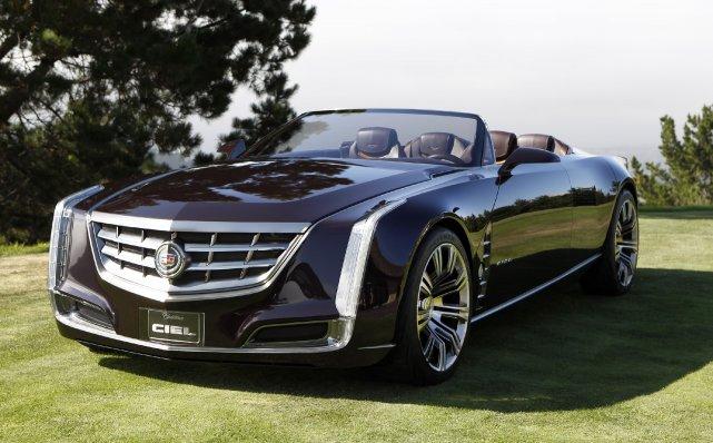 La Cadillac Ciel.... (Photo fournie par GM)