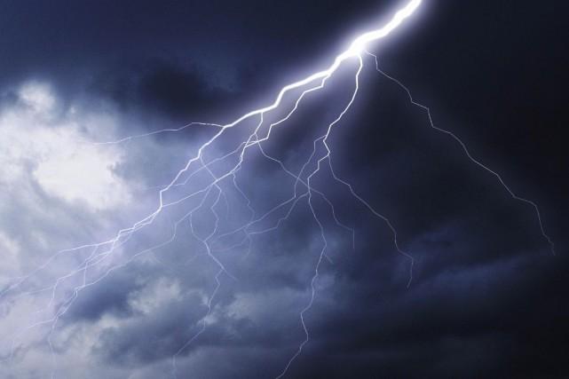 «Les conditions sont propices à la formation d'orages... (Photothèque Le Soleil)
