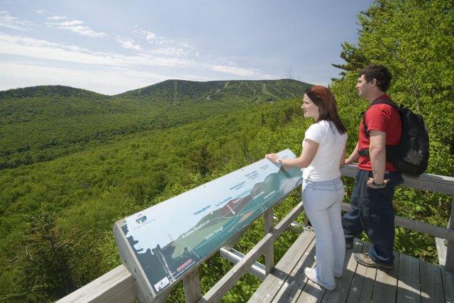 Samedi dernier, le Massif du Sud a officiellement ouvert son tout nouveau Parc... (Photo fournie par Tourisme Chaudière-Appalaches)