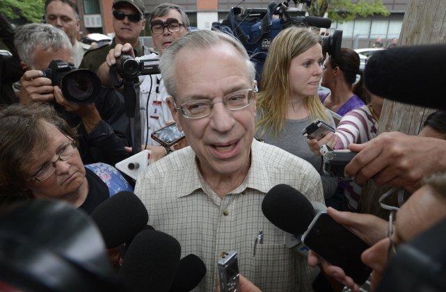 Edward Burkhardt, président de Rail World, le principal... (Photo: La Presse Canadienne)