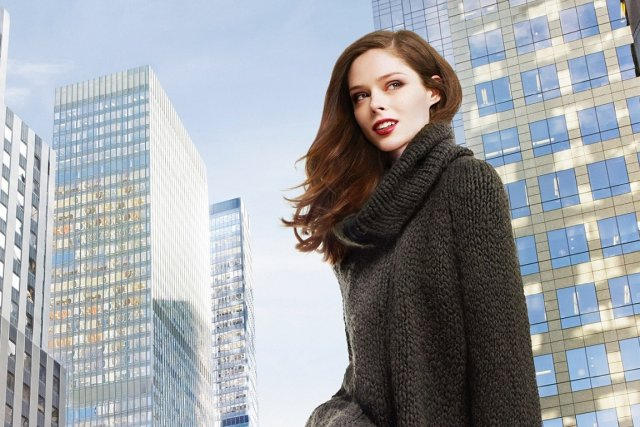 Coco Rocha incarne la nouvelle collection Longchamp, pour... (Photo fournie par Longchamp)