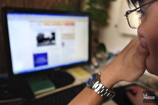 Les annonceurs ont dépensé 42,8 milliards US en... (Photo Frederic J. Brown, archives AFP)