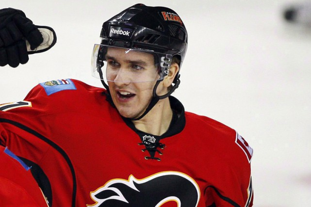 Mikael Backlund... (Photo: AP)