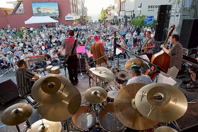 L'UDA alléguait que le Festival de jazz, les... (Photo fournie par le Festival Jazz etcetera Lévis)
