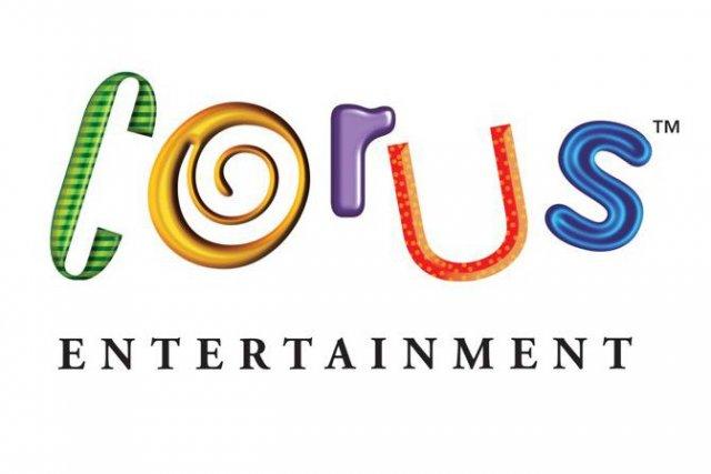 Le logo de Corus Entertainement....