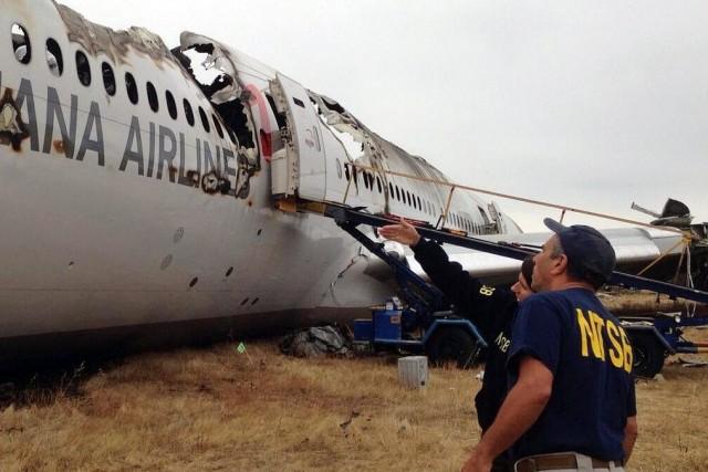 Le vol214 d'Asiana Airlines, la deuxième compagnie sud-coréenne,... (PHOTO archives AP)