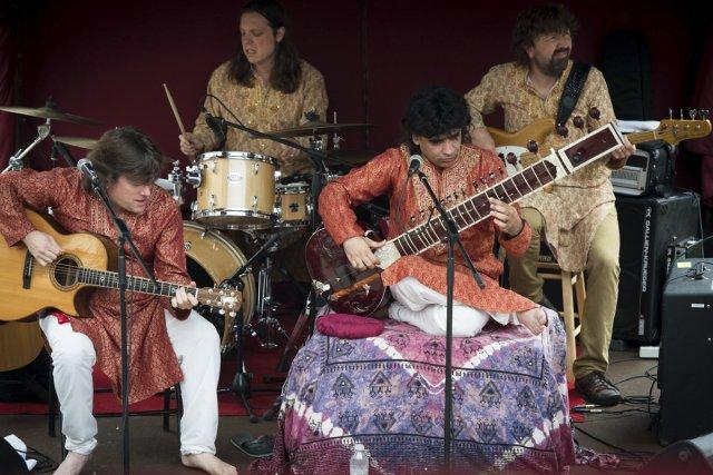 Paul Deslauriers et Anwar Khurshid ont livré, mercredi,... (Photo: fournie par le Festival de blues de Tremblant)