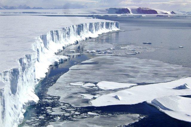 Les eaux de l'Océan austral autour de l'Antarctique... (Photo: AFP)