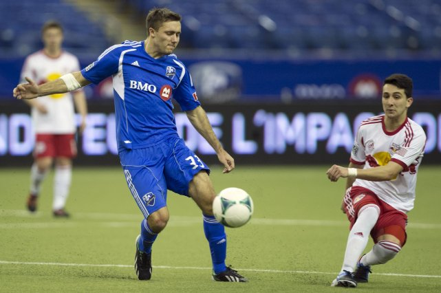 L'attaquant de l'Impact Andrew Wenger.... (PHOTO ROBERT SKINNER, ARCHIVES LA PRESSE)