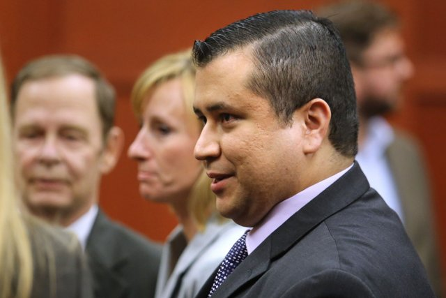 George Zimmerman, qui a tué le jeune Trayvon,... (PHOTO JOE BURBANK, AFP)