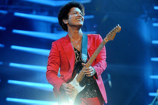 Bruno Mars... (Photo: archives AFP)