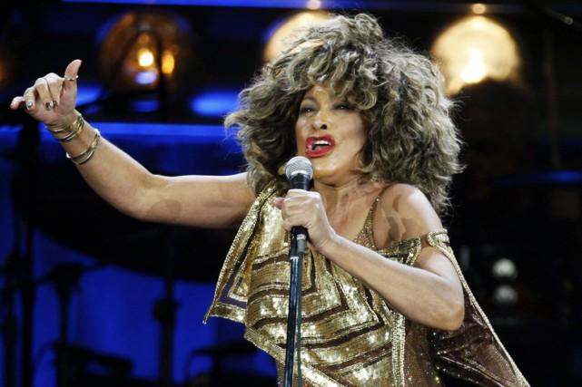 Tina Turner... (PHOTO STEFFEN SCHMIDT, KEYSTONE, AP)
