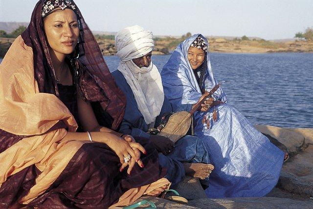 Contingent musical aux racines blues et folk touareg,... (Photo: fournie par Nuits d'Afrique)