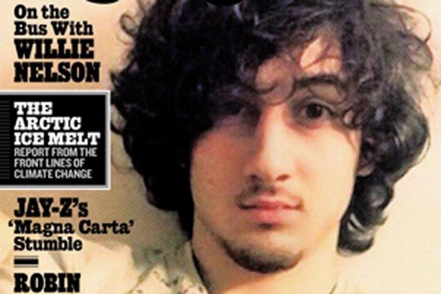 Dzhokhar Tsarnaev à la une du Rolling Stone.... (PHOTO ROLLINGTONE.COM)