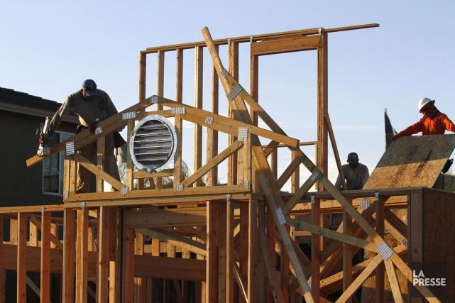 Les dépenses de constrution aux États-Unissont en hausse... (Photo archives Reuters)
