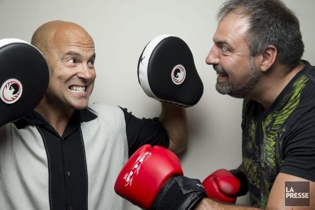 Marc Boilard assure la mise en scène du... (Photo: David Boily, La Presse)