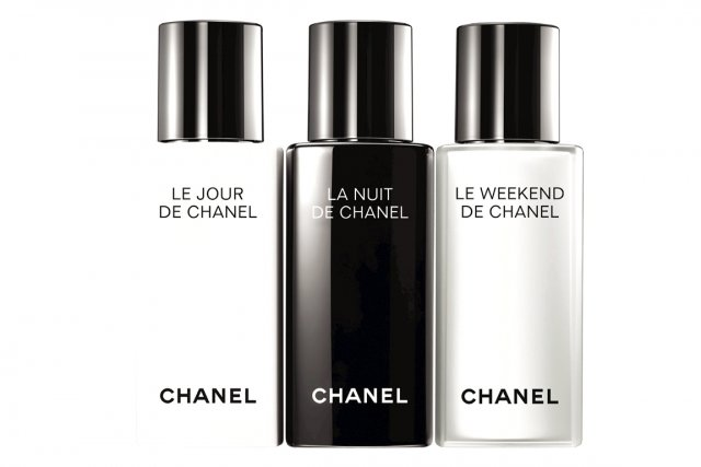chanel soin de jour soin de nuit et soin du week end beaut. Black Bedroom Furniture Sets. Home Design Ideas
