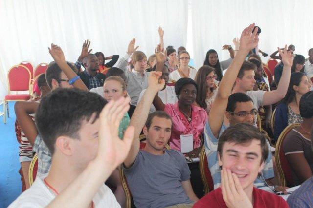 La 6e édition du Parlement francophone des jeunes,... (Photo tirée de facebook)