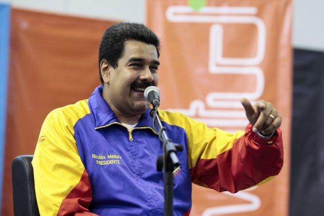 Le président vénézuélien Nicolas Maduro.... (PHOTO REUTERS)