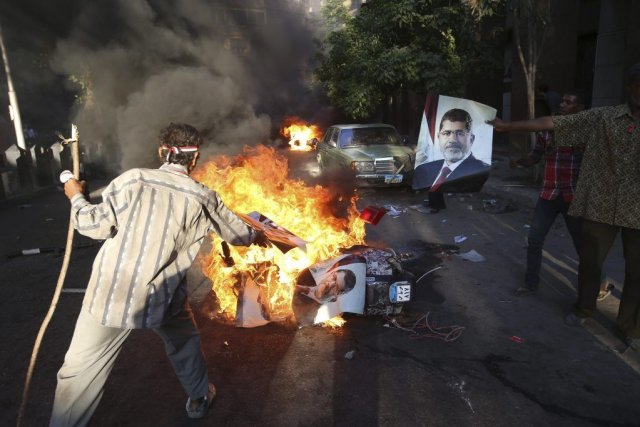 Depuis le renversement de Mohammed Morsi, Amnistie internationale... (Photo Hussein Malla, Associated Press)