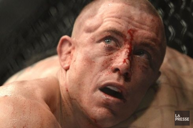 C'est à Las Vegas que Georges St-Pierre affrontera... (Photo : archives La Presse)