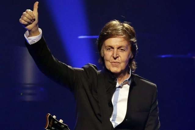 Paul McCartney... (Photo AP)