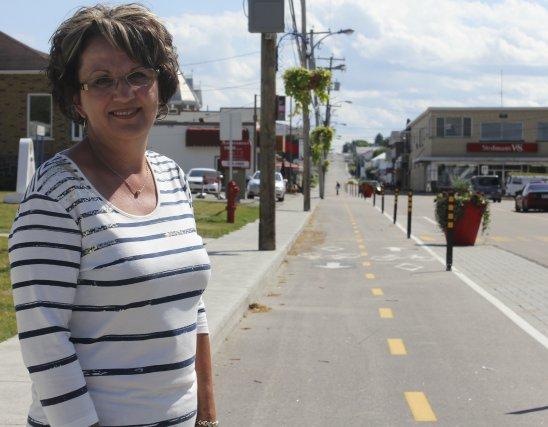 Métabetchouan-Lac-à-la-Croix s'autoproclame la «Capitale régionale du vélo». La... (Photo Isabelle Tremblay)