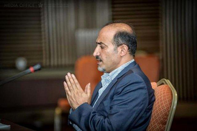 La délégation syrienne, qui entame mardi une tournée... (PHOTO ARCHIVES AFP)