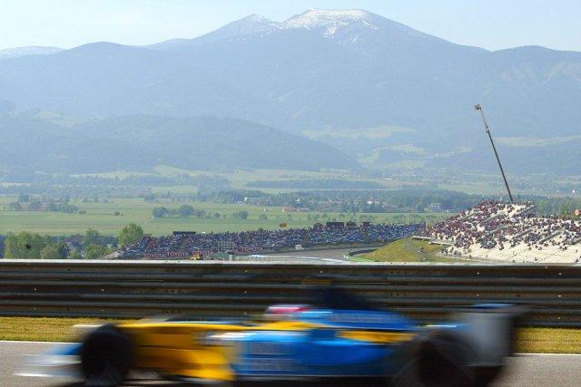 Le dernier Grand Prix d'Autriche avait eu lieu... (Photo archives AFP)