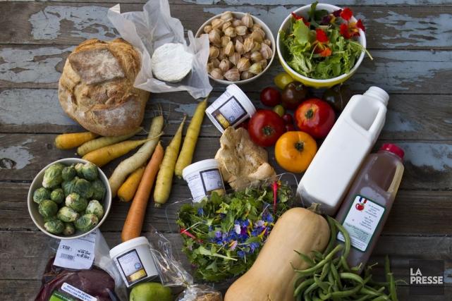 Le gaspillage alimentaire se situe partout: dans le... (Photo Martin Chamberland, Archives La Presse)