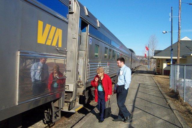 Selon le NPD, Via Rail ne semble pas... (Collaboration spéciale Gilles Gagné)