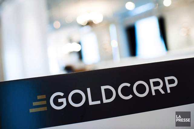 Goldcorp (T.G) a affiché jeudi une perte de 44 millions US... (Photo archives La Presse Canadienne)