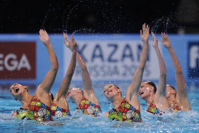 Les Canadiennes ont terminé à plus d'un point... (Photo : Josep Lago, AFP)