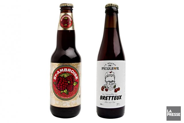 Nous vous proposons désormais deux bières à découvrir, une distribuée à plus... (Photo La Presse)