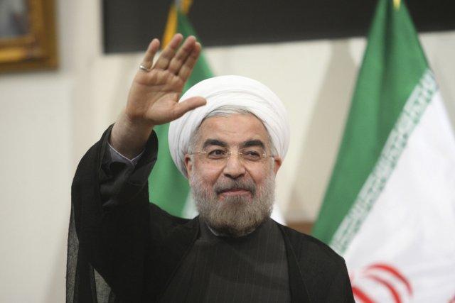 Le président iranien Hassan Rohani... (Photo Reuters)