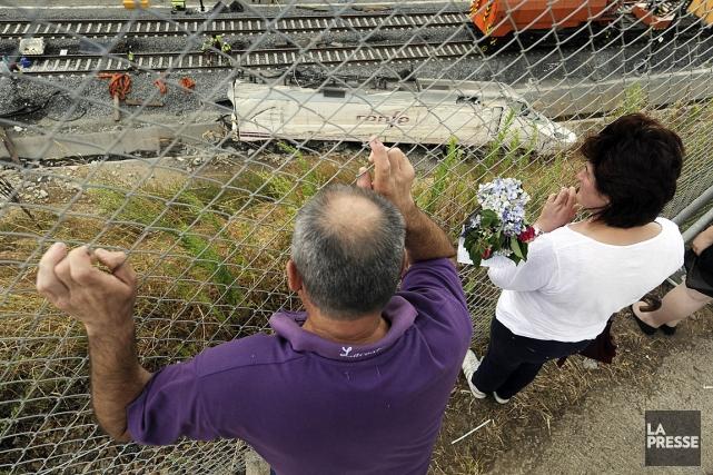 L'accident ferroviaire en Espagne a fait 79 morts.... (Photo: AFP)