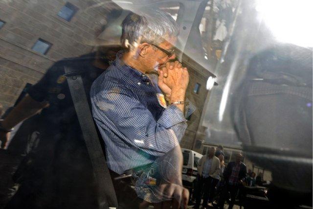 Francisco José Garzon Amo à sa sortie du... (Photo: AFP)