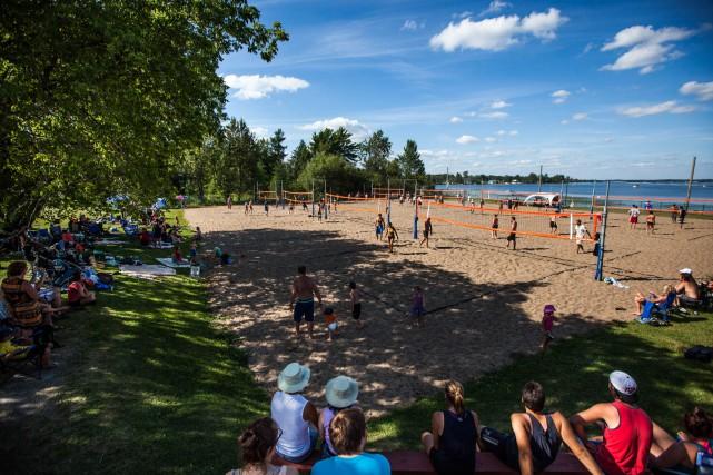 Le Fastival doit remplacer le Festi-Beach de Lac-à-la-Tortue.... (Photo: Olivier Croteau)