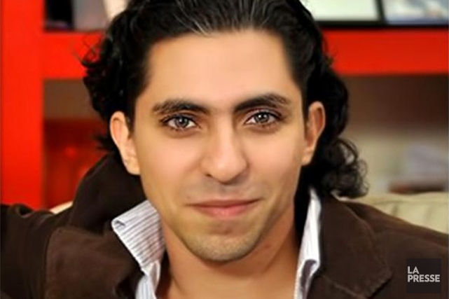 Raïf Badawi devait à nouveau recevoir 50 coups... (PHOTO ISSUE DE TAZAPRESSE.COM, ARCHIVES)