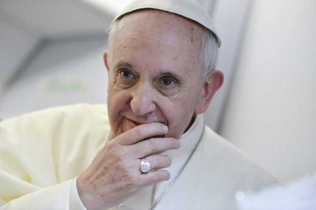 Le pape François.... (Photo AFP)