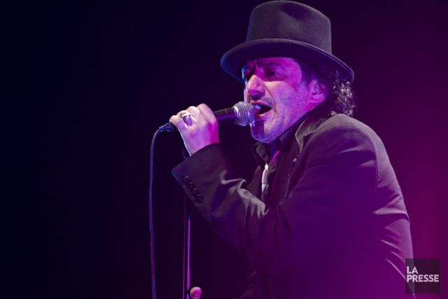Rachid Taha en spectacle à l'Olympia.... (Photo: Anne Gauthier, La Presse)