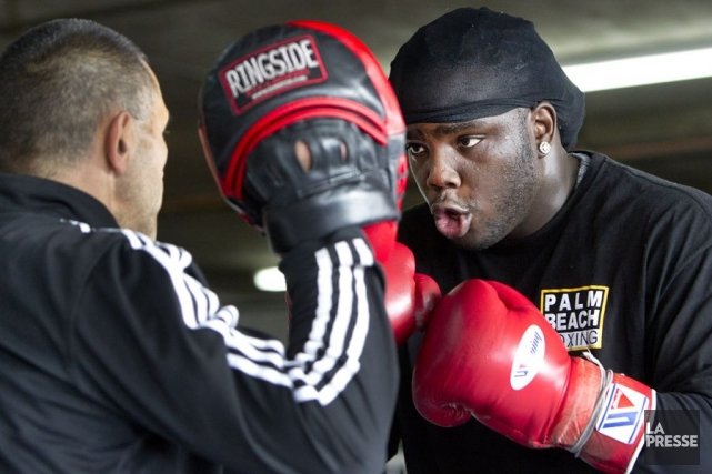 Bermane Stiverne est devenu l'aspirant obligatoire au titre... (Photo: Robert Skinner, archives La Presse)