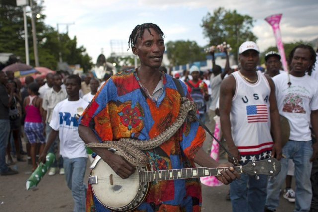 Le carnaval de Port-au-Prince.... (Photo AP)