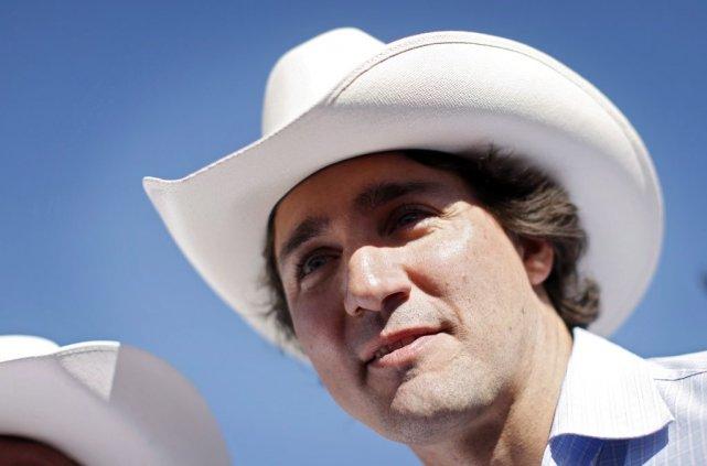 Justin Trudeau a jeté un pavé dans la... (Photo Jeff McIntosh, La Presse canadienne)