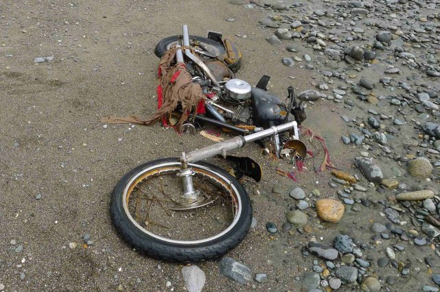 Une moto s'est retrouvée à 6400 km de... (Photo archives La Presse Canadienne)