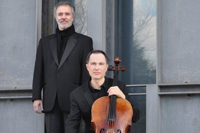 Yegor Dyachkov et Jean Saulnier... (Photo: fournie par le Festival de Lanaudière)