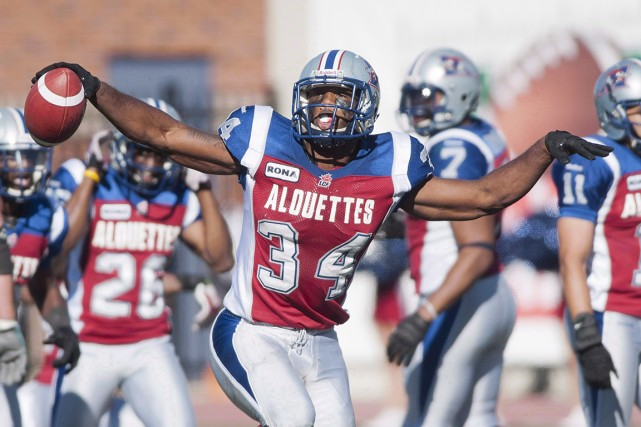 Le secondeur des Alouettes Kyries Hebert... (Photo Graham Hughes, archives La Presse Canadienne)