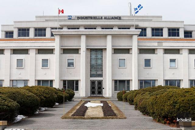 Le siège social d'Industrielle Alliance à Québec... (Photothèque Le Soleil, Yan Doublet)