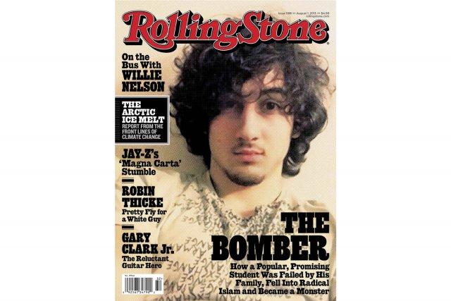 Dzhokhar Tsarnaev à la une du Rolling Stone.... (Photo: Reuters)