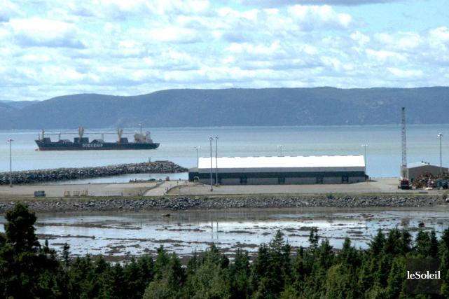 Le port de mer de Gros-Cacouna pourrait être... (Photothèque Le Soleil)
